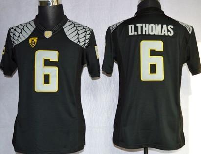 Oregon Ducks #6 DeAnthony Thomas 2013 Black Limited Womens Jersey