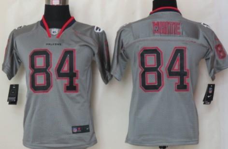 Nice Nike Atlanta Falcons #11 Julio Jones Lights Out Gray Kids Jersey on