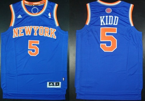 outlet store c7763 1af38 New York Knicks #5 Jason Kidd Revolution 30 Swingman 2013 ...