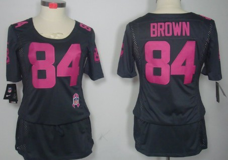 wholesale dealer 2e3c1 fde2a Nike Pittsburgh Steelers #84 Antonio Brown Breast Cancer ...