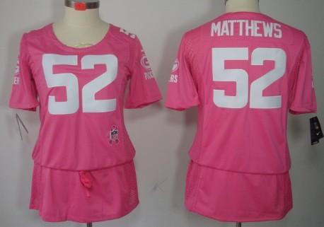 clay matthews jersey womens pink