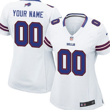 ae56114a Women's Nike Buffalo Bills Customized White Game Jersey on sale,for ...