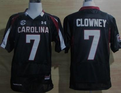 South Carolina Gamecocks #7 Jadeveon Clowney Black Jersey