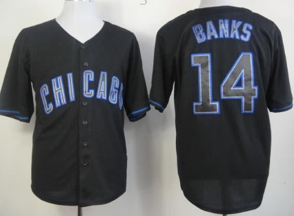 chicago cubs black jersey