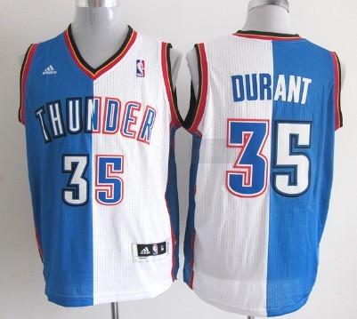 Oklahoma City Thunder #35 Kevin Durant Revolution 30