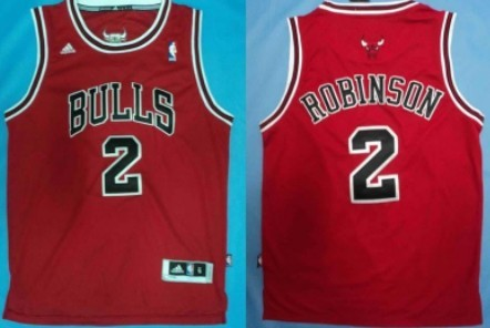 16b1a5efc Chicago Bulls  2 Nate Robinson Revolution 30 Swingman Red Jersey on ...