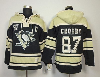 ... reduced old time hockey pittsburgh penguins 87 sidney crosby black  hoodie a5269 de5a2 6df2c11bf
