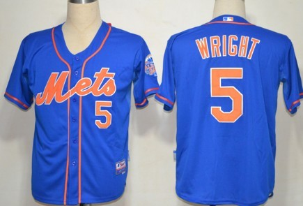 outlet store 38ba1 322d9 New York Mets #5 David Wright Blue Jersey on sale,for Cheap ...