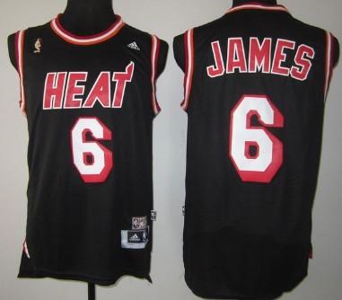Miami Heat #6 LeBron James ABA Hardwood Classics Swingman