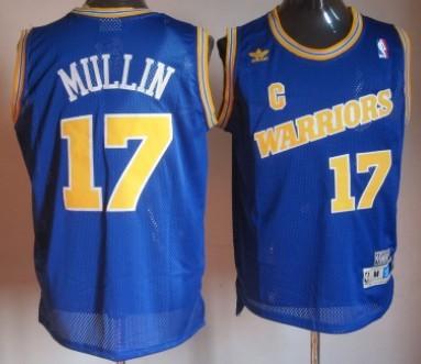 Golden State Warriors  17 Chris Mullin 1988-89 Blue Swingman Throwback  Jersey 4fb91273a