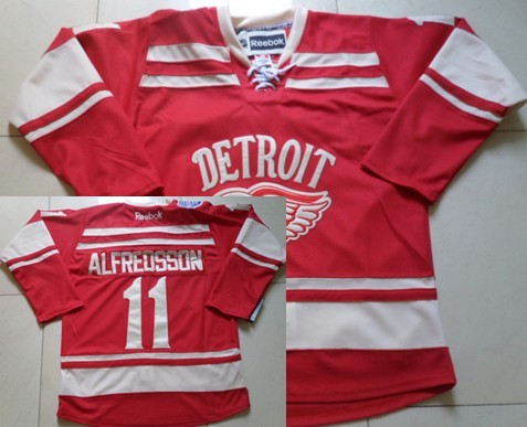 detroit red wings 11 daniel alfredsson 2014 winter classic red jersey c1a052b72