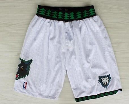 hot sale online c9085 89065 Minnesota Timberwolves White Swingman Short on sale,for ...