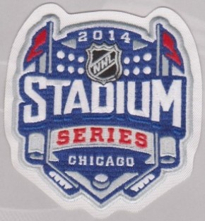 2014 Chicago Blackhawks Stadium Series Patch