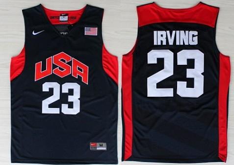 b5b7ce3a202 2012 olympics team usa 23 kyrie irving revolution 30 swingman white jersey