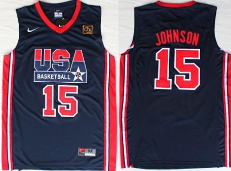 brand new 5b690 0f9dc magic johnson team usa jersey