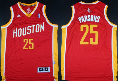premium selection 08ceb c107a Houston Rockets #25 Chandler Parsons Revolution 30 Swingman ...