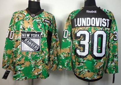 new york rangers 30 henrik lundqvist 2014 camo jersey