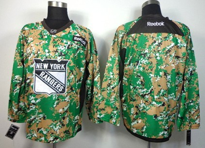 new york rangers blank 2014 camo jersey