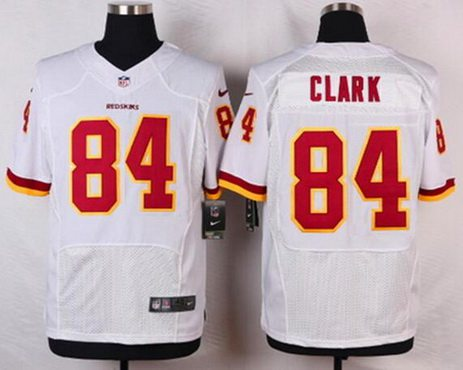 detailing 88b45 d311f Men's Washington Redskins #84 Gary Clark White Retired ...