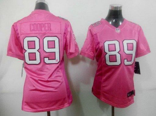 online retailer b8318 e608b Women's Oakland Raiders #89 Amari Cooper Pink NFL Nike ...