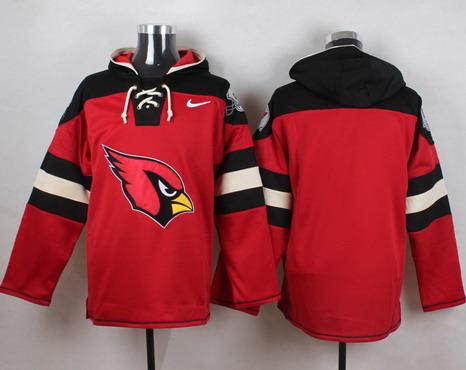 Men's Arizona Cardinals #13 Kurt Warner Red Team Color 2014 NFL Nike Hoodie