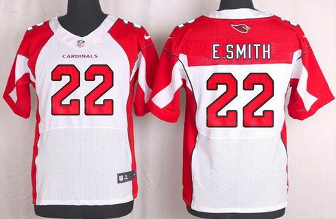 premium selection a7095 4ae93 Men's Arizona Cardinals #22 Emmitt Smith White Retired ...