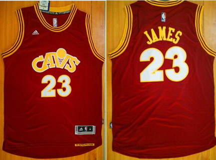 sale retailer b0c21 46f22 Men's Cleveland Cavaliers #23 LeBron James Revolution 30 ...