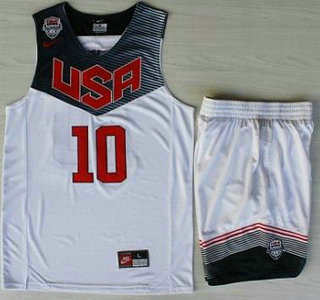 bc3a8f24b94 italy 2014 usa dream team 10 kyrie irving white basketball jersey suits  13051 5b4d2