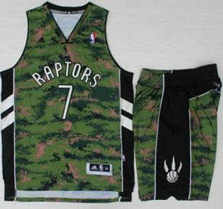 ac28bf7dbda Toronto Raptors #7 Kyle Lowry Revolution 30 Swingman Special Canadian  Forces Fourth Jersey Suits