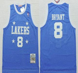 Los Angeles Lakers #8 Kobe Bryant 2004-05 Light Blue Hardwood ...