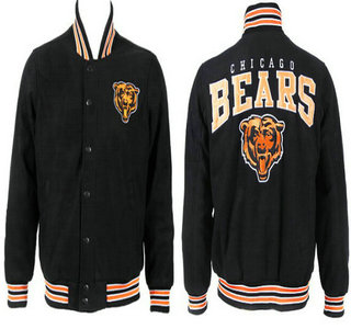 Chicago Bears Black Jacket FG