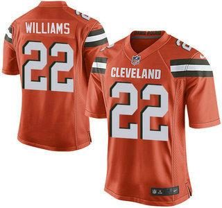 premium selection e28d4 f6069 Men's Cleveland Browns #57 Clay Matthews Road NFL Nike Elite ...