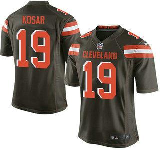 premium selection 2a7c9 c6eec Men's Cleveland Browns #57 Clay Matthews Road NFL Nike Elite ...