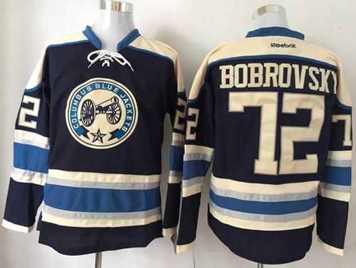 blue jackets bobrovsky jersey
