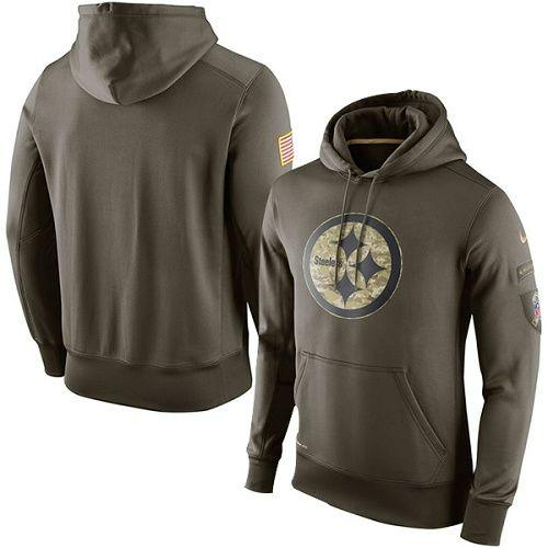 To Pittsburgh Ko Nike Olive Steelers Men's Service Salute 9WDHYE2I