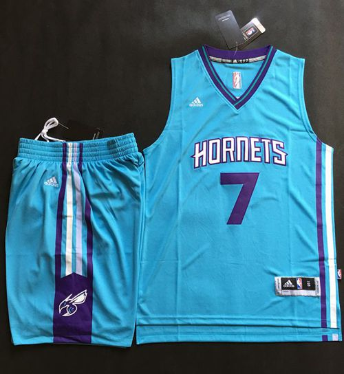 Hornets #7 Jeremy Lin Teal A Set Stitched NBA Jersey on sale,for ...