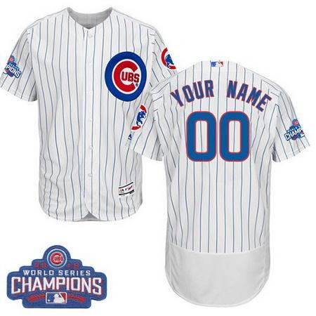 size 40 619d3 72524 Men's Chicago Cubs Custom Royal Blue Majestic Flex Base 2016 ...