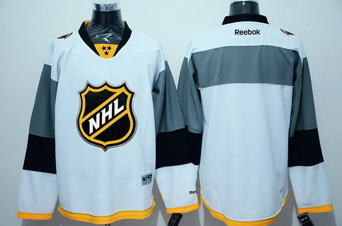 Men's NHL 2016 All-Star Blank White Jersey