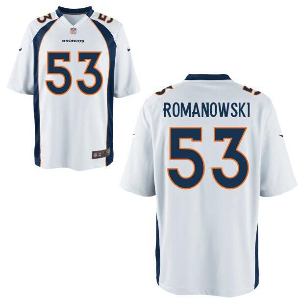 New Men's Denver Broncos Retired Player #53 Bill Romanowski OrangeNFL  hot sale