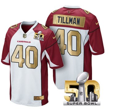 cheap for discount c8cf2 fc5a4 Pre Order Arizona Cardinals Jersey 40 Pat Tillman White ...