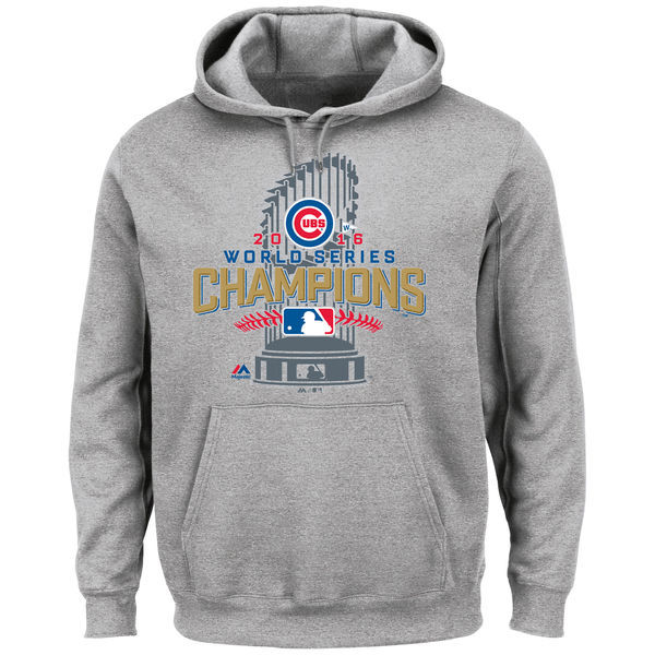 huge discount f12c5 6970b Chicago Cubs Heathered Gray Big & Tall 2016 World Series ...