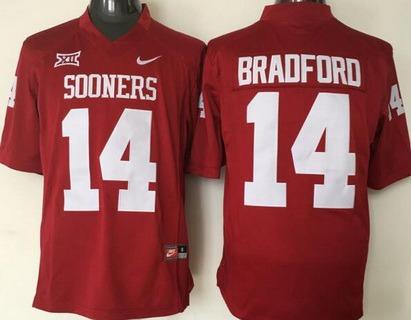 Baker Mayfield Oklahoma Sooners Jordan Football Jersey - Red