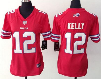 quality design 1d525 35354 Women's Buffalo Bills #21 Leodis McKelvin Home Blue NFL Nike ...