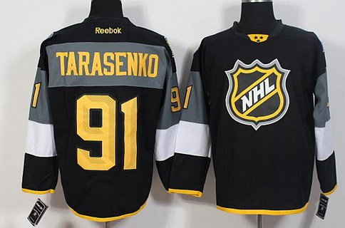 Men's St. Louis Blues #91 Vladimir Tarasenko Reebok Black 2016 NHL All-Star Premier Jersey