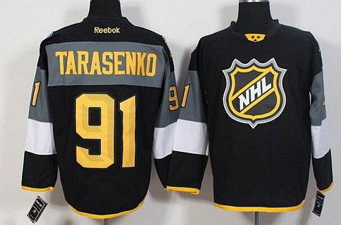 Men's St. Louis Blues #91 Vladimir Tarasenko Reebok Black 2016 NHL All-Star Premier Jersey