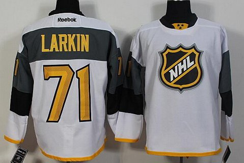 Men's Pittsburgh Penguins #71 Evgeni Malkin White Black 2016 NHL All-Star Premier Jersey