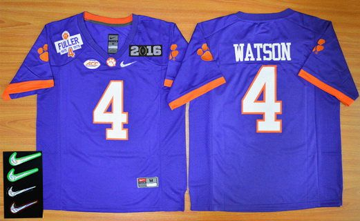 Clemson China Purple Bowl Cheap Special Rose Tigers Quest Deshaun Watson Diamond Sale wholesale On 4 2016 Men's Event From Playoff for Jersey
