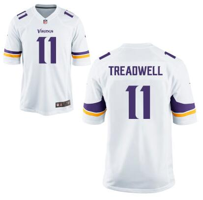 Youth Minnesota Vikings #11 Laquon Treadwell Nike White 2016 Draft Pick Game Jersey
