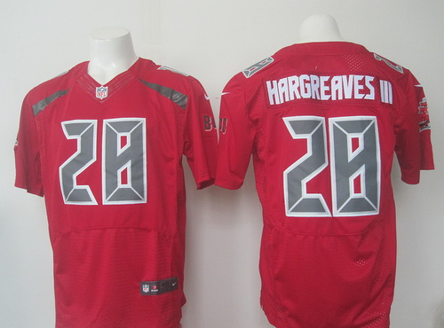 Discount Men's Tampa Bay Buccaneers #28 Vernon Hargreaves III Red Team Color  for sale