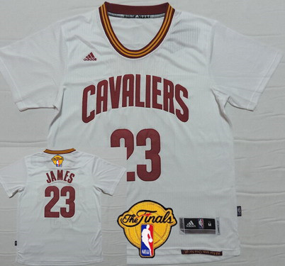 wholesale dealer 02fb6 f2308 Men's Cleveland Cavaliers #23 LeBron James 2016 The NBA ...